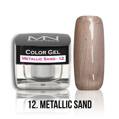 MN Color Gel Metallic Sand 12