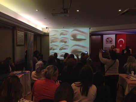 İstanbul Güzellik Odası Sektör Gelişim Seminerindeydik