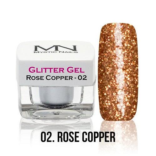 MN Glitter Gel Rose Cooper 4 g