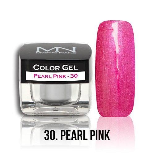 MN Color Gel Pearl Pink 30