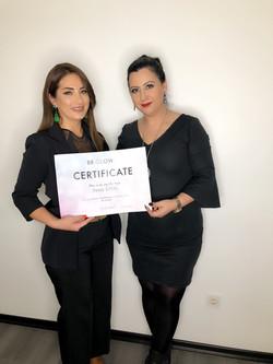 BB Glow sertifikası