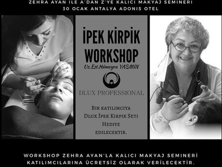 İpek Kirpik Worksop Antalya