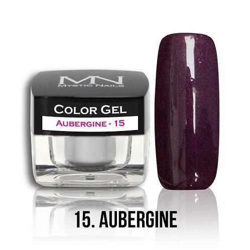 MN Color Gel Metallic Aubergine 15