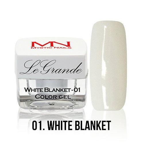 MN Le Grande Color UV Gel White 01