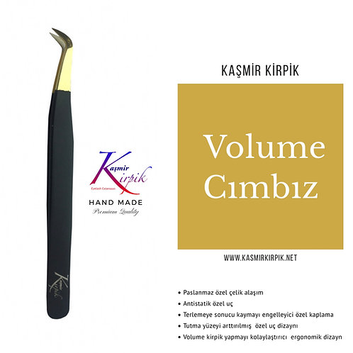 Kaşmir Kirpik ® Volume Cımbızı