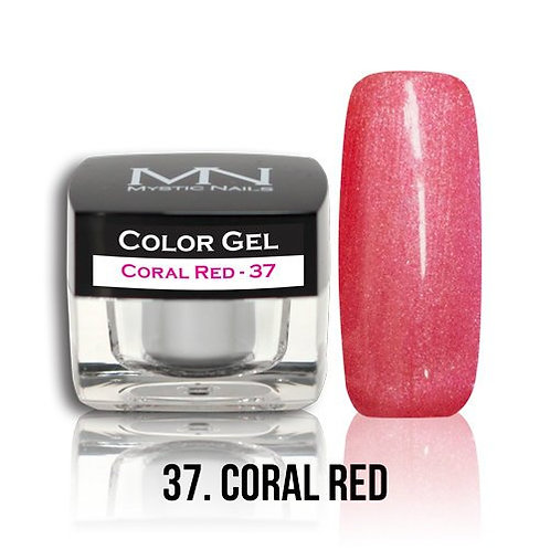 MN Color Gel Coral Red 37