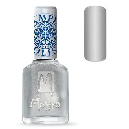 Moyra Baskı Ojesi Gümüş 07