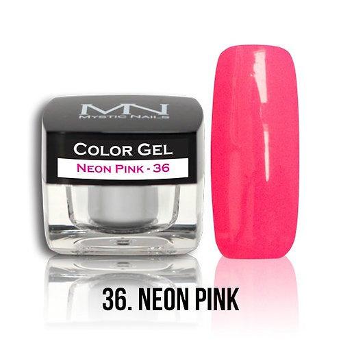 MN Color Gel Neon Pink 36