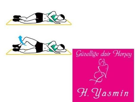 Bacak iç Kısmındaki sarkmalardan kurtulmak için pratik egzersizler