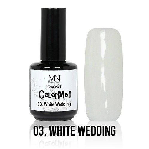 MN Color MeWhite Wedding