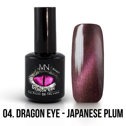 Kalıcı Oje Ejderha Gözü Efekti Japanese Plum