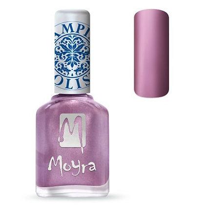 Moyra Baskı Ojesi Metal Roze
