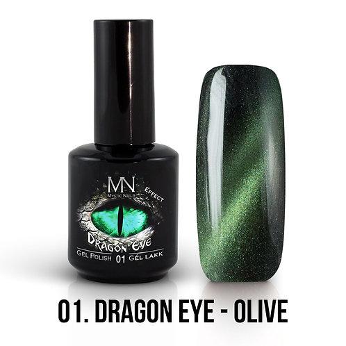 Kalıcı Oje Ejderha Gözü Efekti