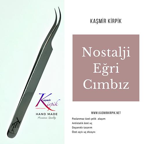 Kaşmir Kirpik ® Nostalji Serisi Eğri Cımbız