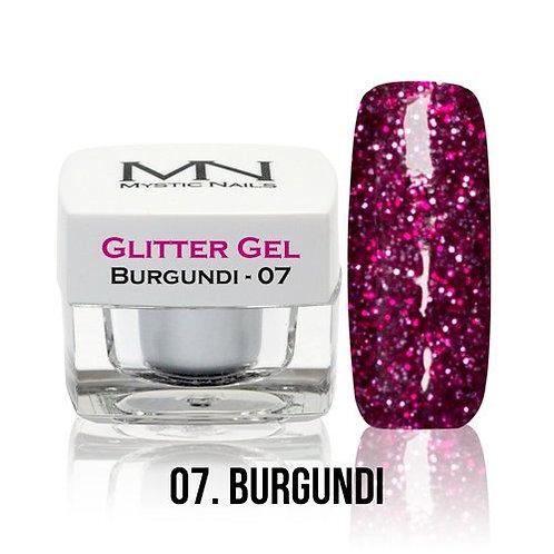 MN Glitter GelBurgundi  4 g