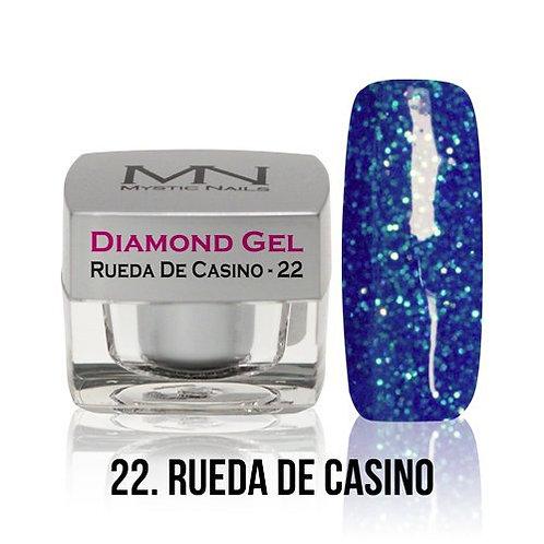 MN Diamond Gel Rueda de Casino