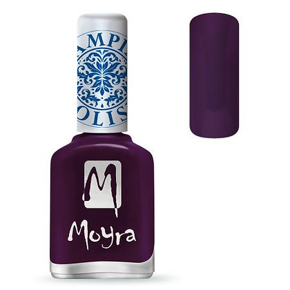 Moyra Baskı Ojesi Purple 04