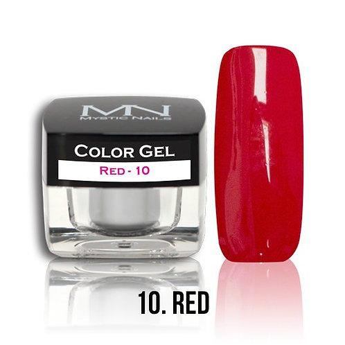 MN Color Gel Red 10