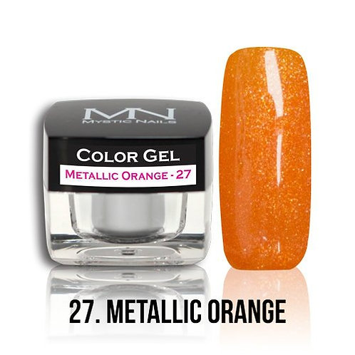 MN Color Gel Metallic Orange 27