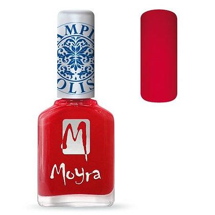 Moyra Baskı Ojesi Kırmızı  02