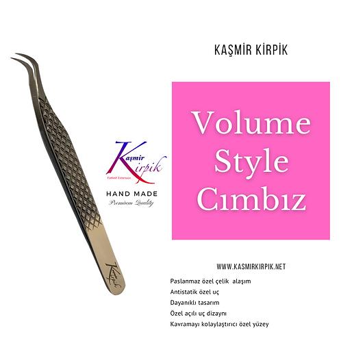 Kaşmir Kirpik ® Volume Style Cımbız