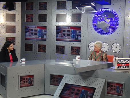 Business Channel Türk'te Gülgün Feyman'ın Konuğu olduk