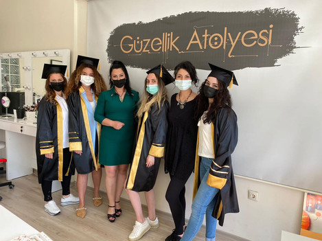 Bursada öğrencilerimle
