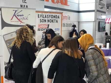 Markamız Kaşmir Kirpik Güzelik & Bakım 2020 İstanbul fuarında ilk kez yerini aldı