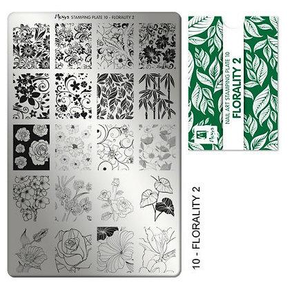 Moyra Baskı Florality 10