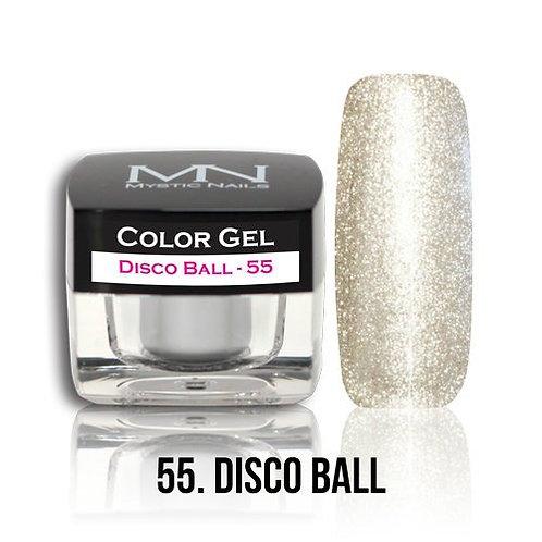 MN Color Gel Disco Ball 55