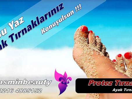 Ayak Parmaklarında Protez Tırnak Uygulaması