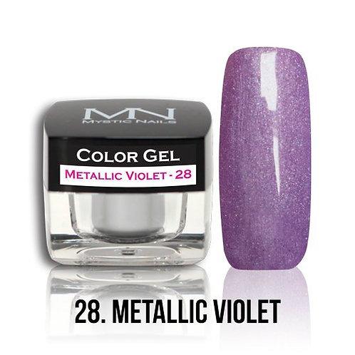 MN Color Gel Metallic Violet 28