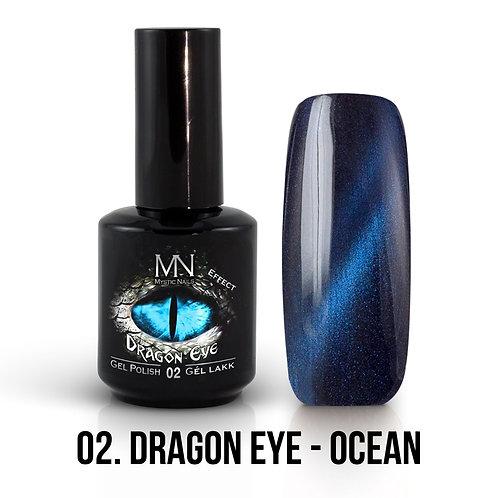 Kalıcı Oje Ejderha Gözü Efekti Ocean
