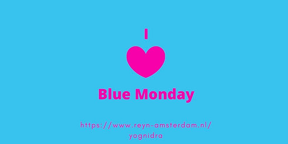Yoga Nidra op Blue Monday om 11:00 (Nederlands)