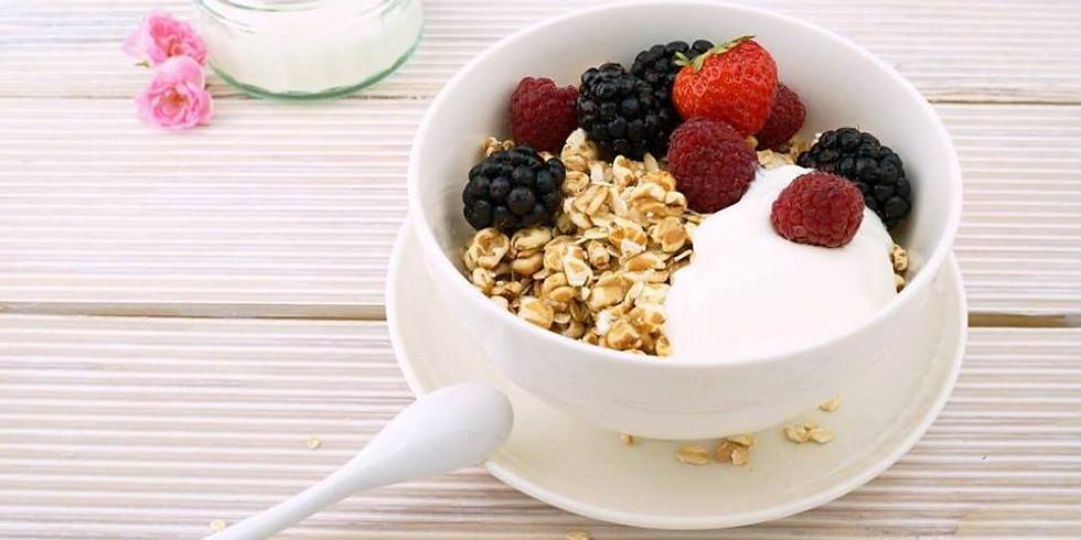 Ontbijt voor yogi's