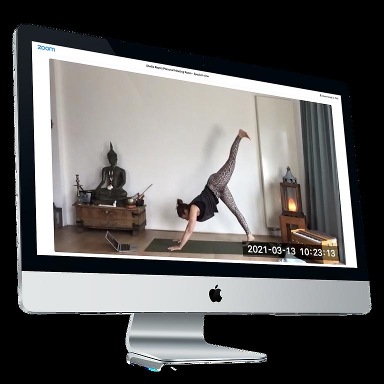 Free yoga livestream