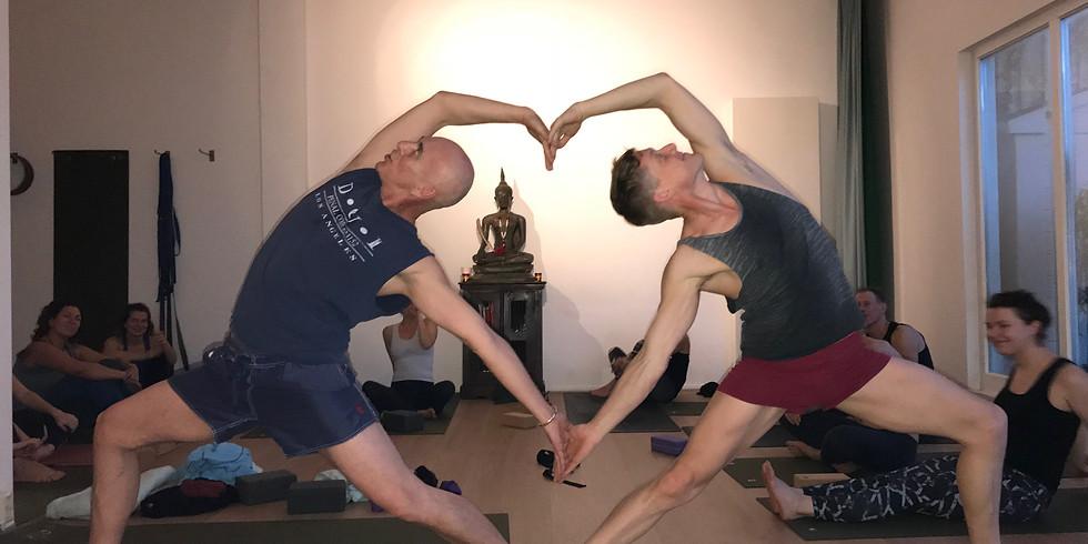 Hatha yoga workshop with Gösta on June 10