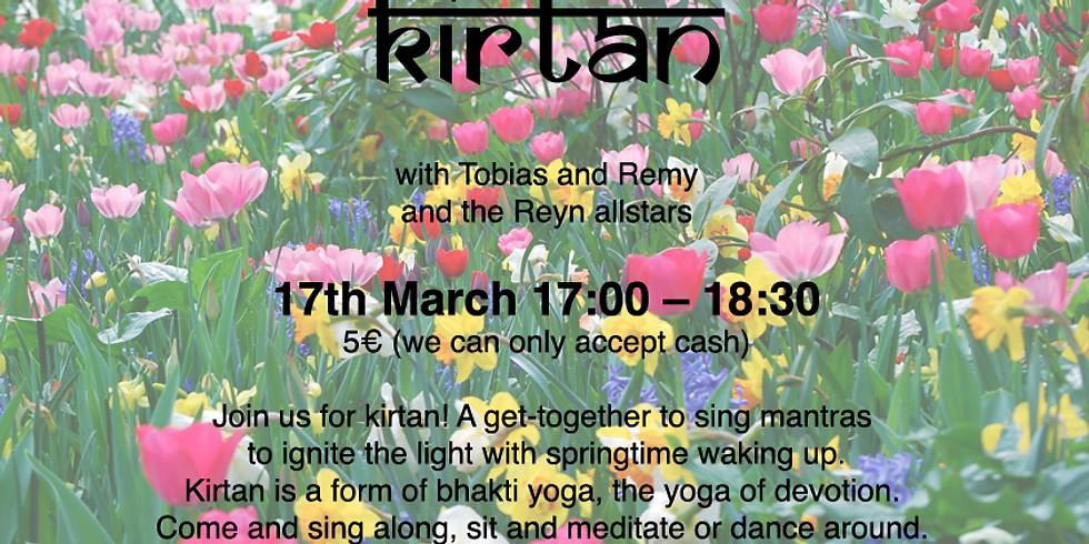 Kirtan on March 17