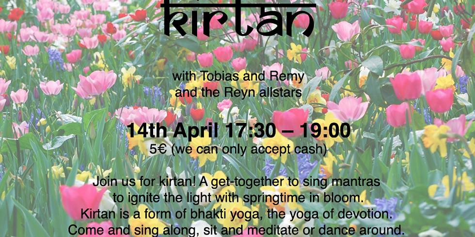 Kirtan on April 14