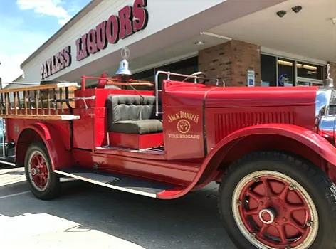 Jack Daniel's Fire Truck