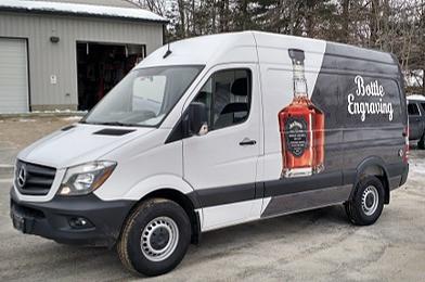 Jack Daniel's Engraving Van