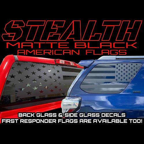 Matte Flag Decals for Trucks & SUV's