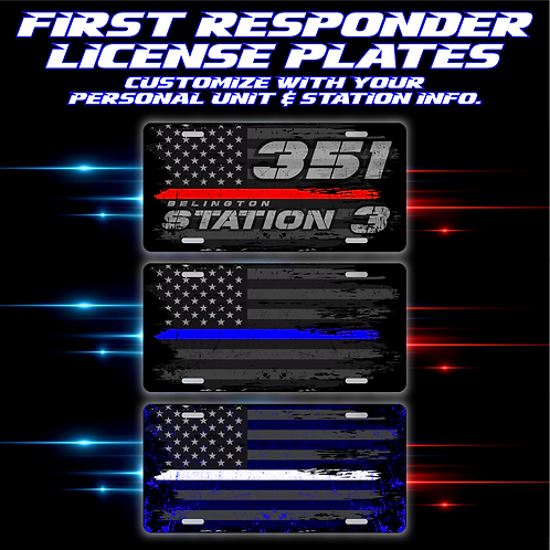 First Responder Auto Tags
