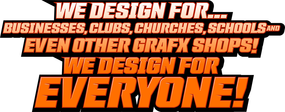 We Design For.png