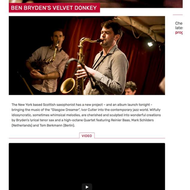 Edinburgh Jazz Festival 2016