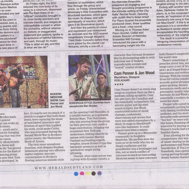 Glasgow Herald 2014