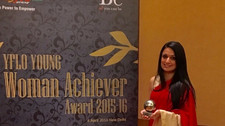Awarded Young Woman Achiever Award for Music and Performing Arts by FICCI