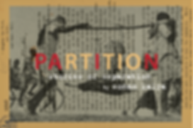 Partition: Stories of Separation postcard
