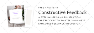 performance review checklist and examples
