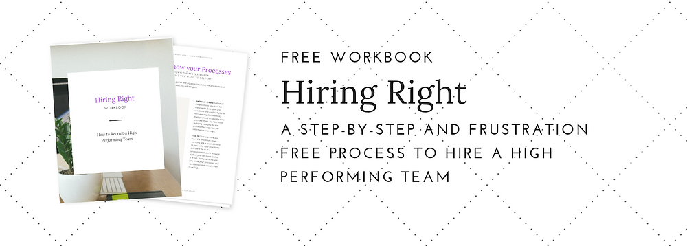 hiring right workbook